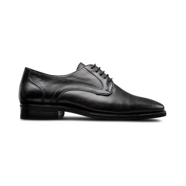 Black Oxford Shoes - Men Suits