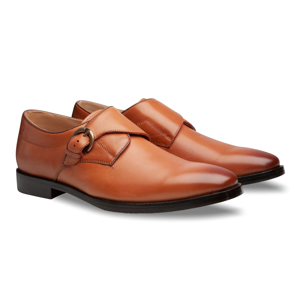 British Tan Oxford Shoes - Men Suits