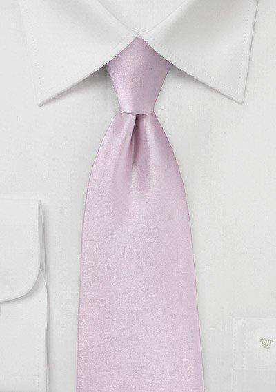 Soft-Lilac Solid Necktie