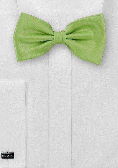 Green Apple Solid Bowtie