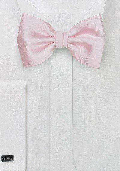 Blush Solid Bowtie - Men Suits