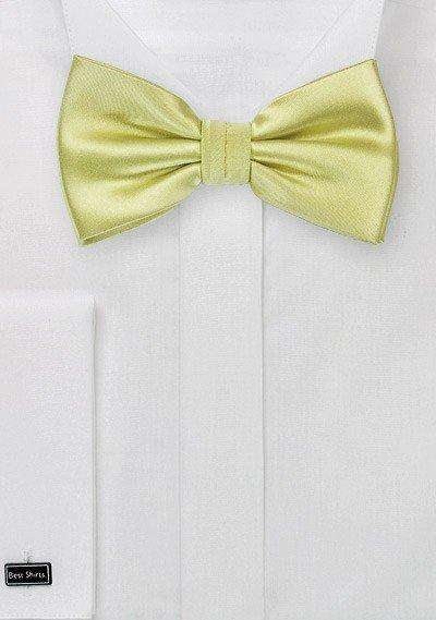 Pear Solid Bowtie