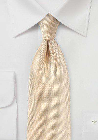 Peach Apricot MicroTexture Necktie