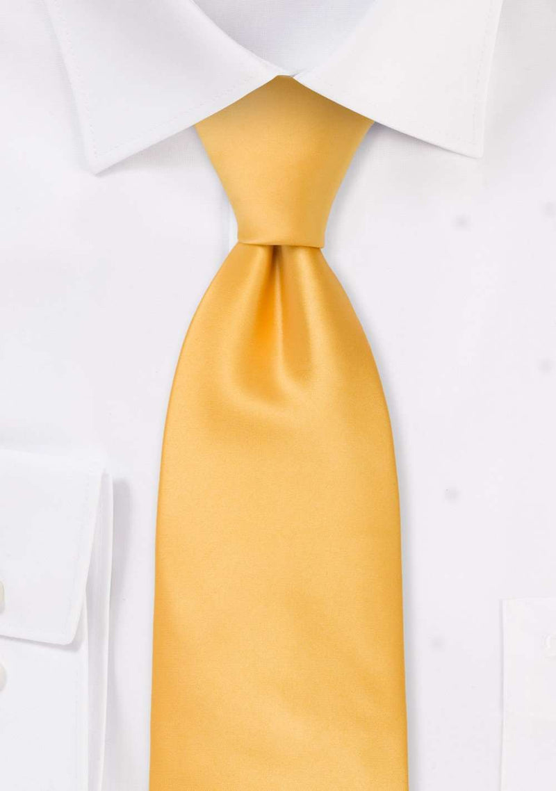 Lemon Solid Necktie
