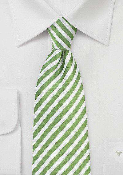 Kiwi Summer Striped Necktie