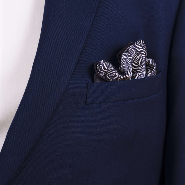 Wild Side Pocket Square
