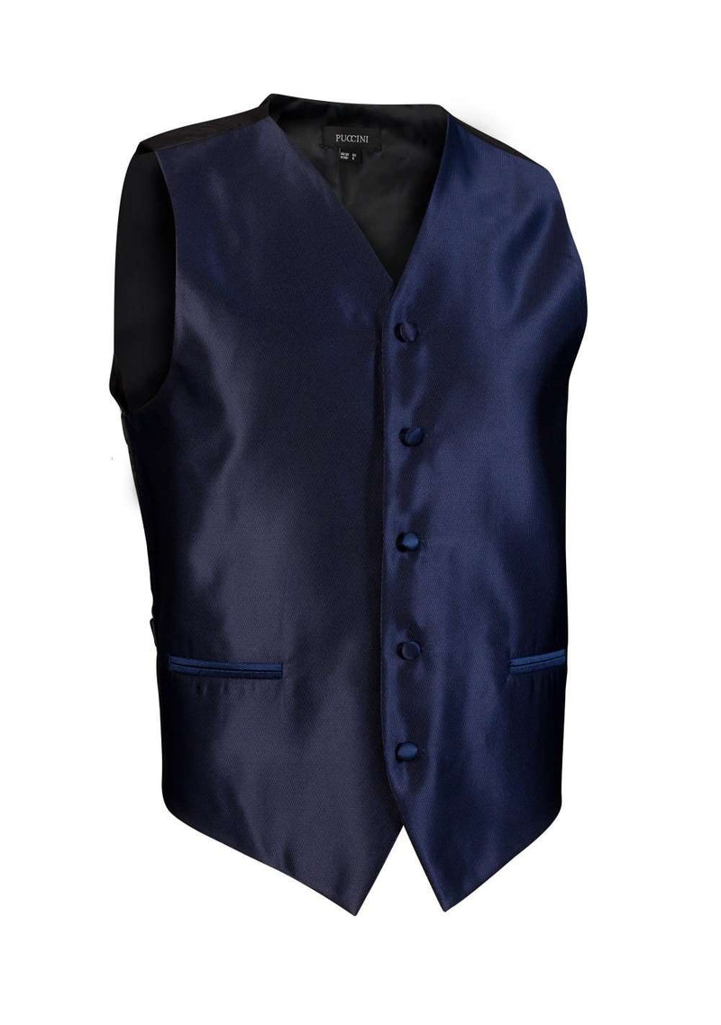 Classic Navy Solid Vest