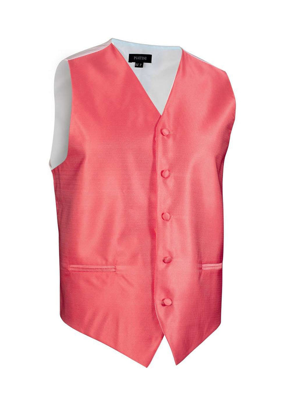 Coral Reef Solid Vest - Men Suits