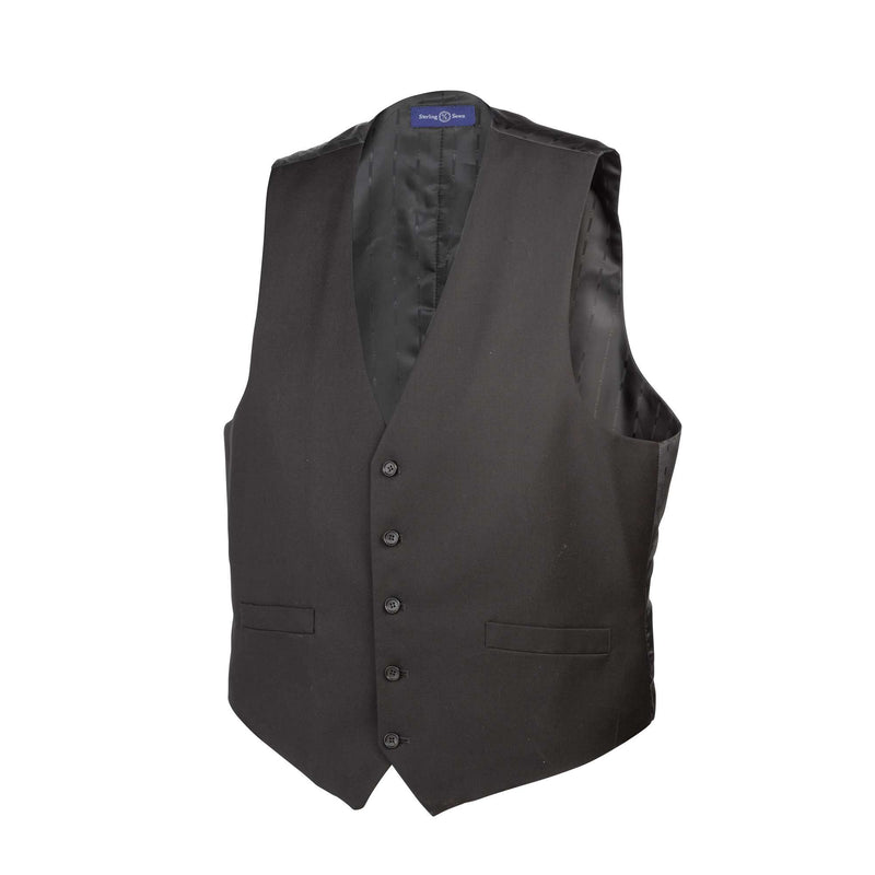 Classic Noir Vest - Men Suits