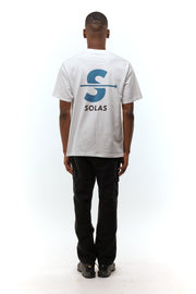 Solas 'Bubble' White T-Shirt