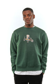 Solas 'Lady Of Leisure ' Forest Green Sweatshirt