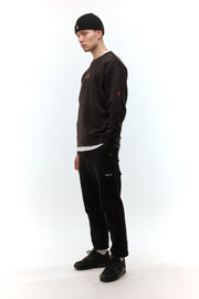 Solas Black Oval Sweatshirt