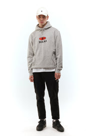 Solas Pop Logo Heather Grey Hoodie