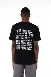 Solas Black T-Shirt