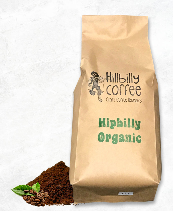 Hillbilly Coffee Hipbilly Organic Coffee Beans 1KG BAG Mornington Peninsula