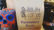 Load image into Gallery viewer, Hillbilly Coffee Psychobilly Blend Coffee Beans 1KG BAG Mornington Peninsula