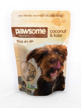 Load image into Gallery viewer, Pawsome Organics - Coconut & Kale Dog Treats 250gm