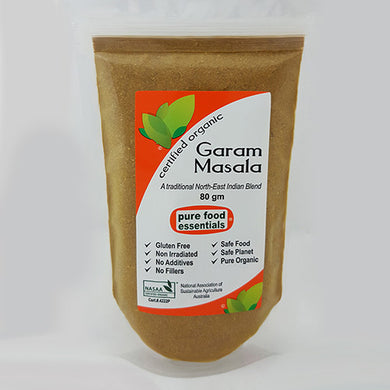 Pure Food Essentials - Garam Masala Powder 10 x 80g Per Box Bulk Buy