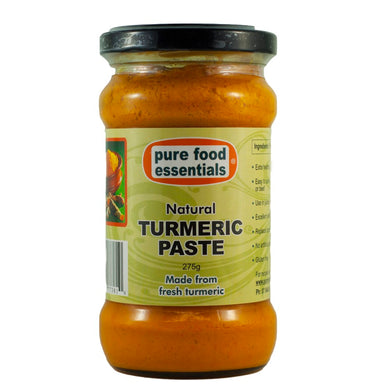 Pure Food Essentials - Turmeric Paste 275g Per Jar - Non-Organic