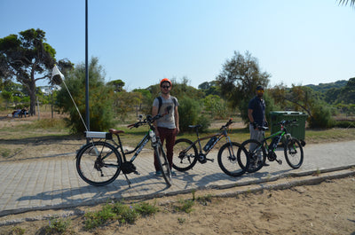 Athens Grand Riviera Vouliagmeni Coastline Electric Bike Guided Tour with Food & Refreshments | eBike Tour.