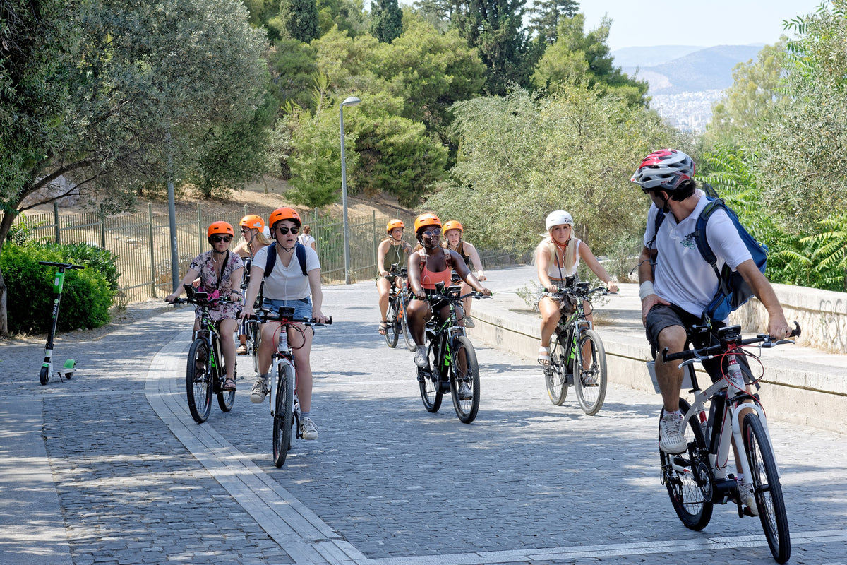 Athens Electric Bike Guided Fast Track  Tour | eBike Tour.