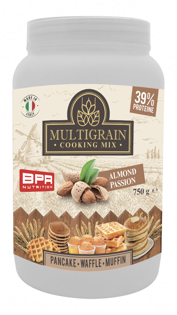 Multigrain Cooking Mix - 750 g - Almond Passion - New