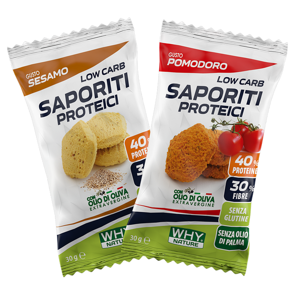 LOW CARB SAPORITI PROTEICI