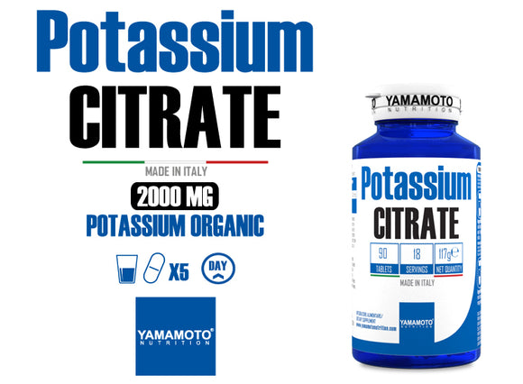 POTASSIUM CITRATE - 90 TABLETS
