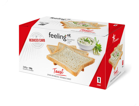Toast - Pane proteico low carb 160g