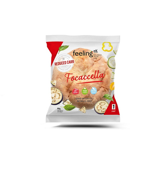 Focaccella low carb - 80 gr