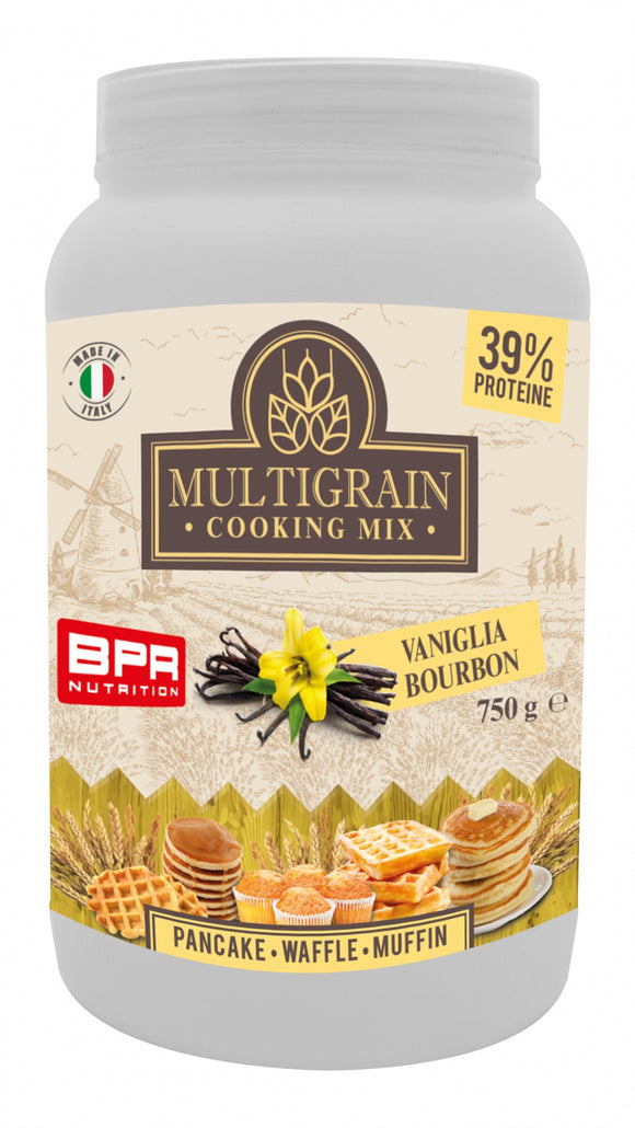 Multigrain Cooking Mix 750 g Vaniglia bourbon