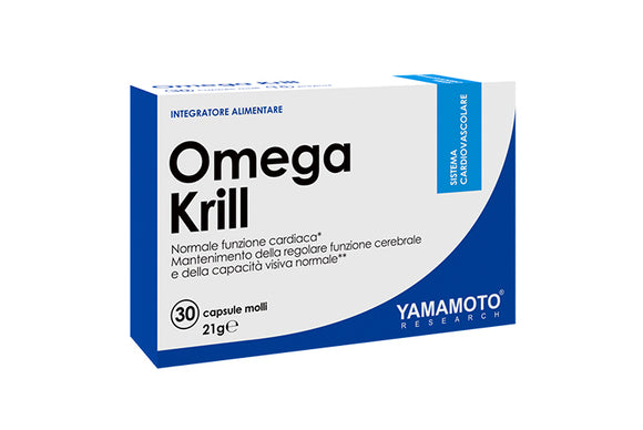 OMEGA KRILL -  30 softgels