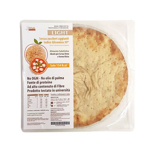 Base Pizza e Focaccia Light - 200 g