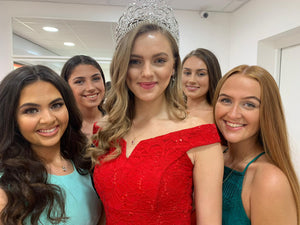 Cardiff Diamonds welcomes Miss Wales to HQ