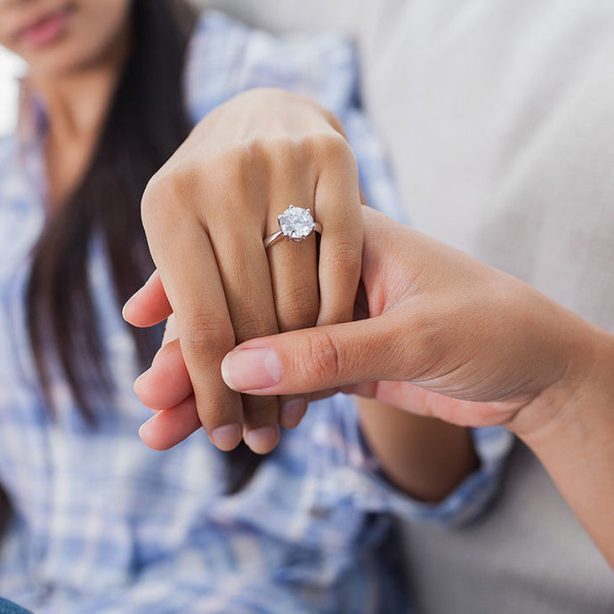 HOW TO FIND YOUR PARTNER'S RING SIZE WITHOUT THEM KNOWING