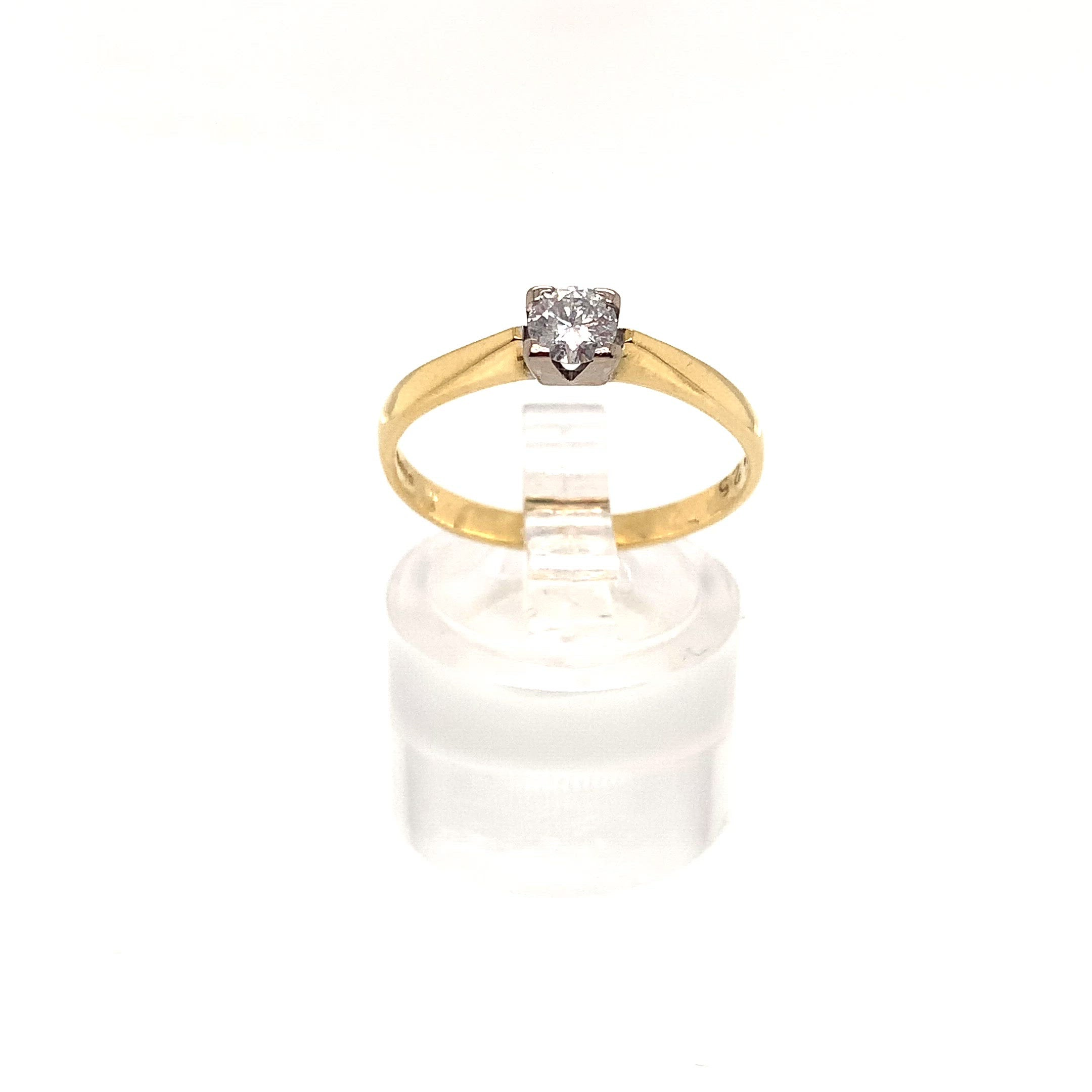 0.25ct Diamond Solitaire Ring