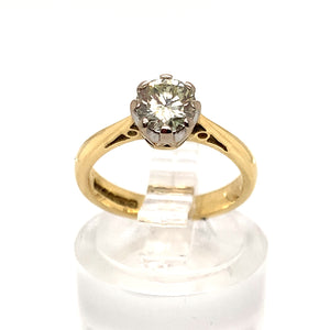 0.60ct Diamond Solitaire Ring