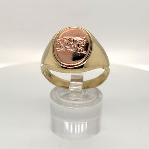 Clogau 9ct Dragon Signet Ring