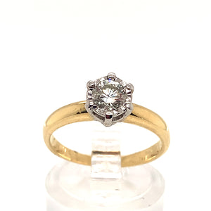 0.40ct Diamond Solitaire Ring
