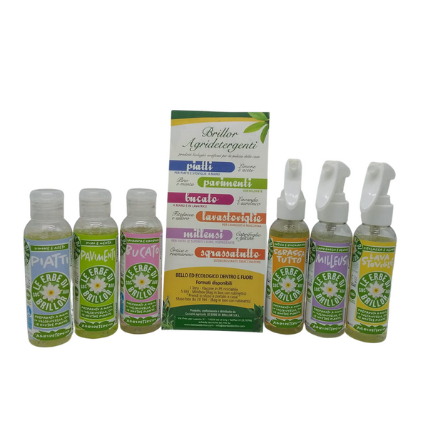 Set 6 Agridetersivi - 6 per 100 ml