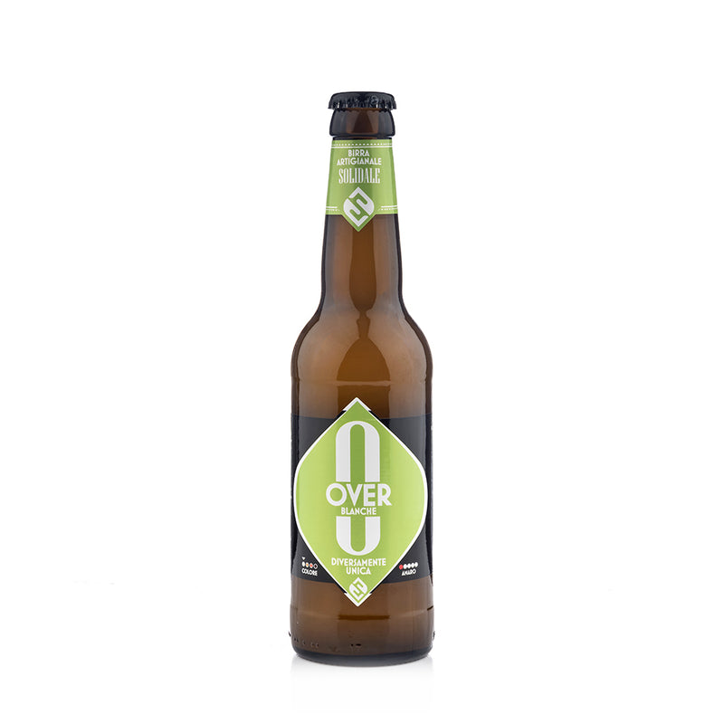 Solid Ale Beer - Over Blanche - Bottiglia 33 cl fronte