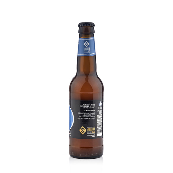 Solid Ale Beer - Vaster Dortmunder - Bottiglia 33 cl retro