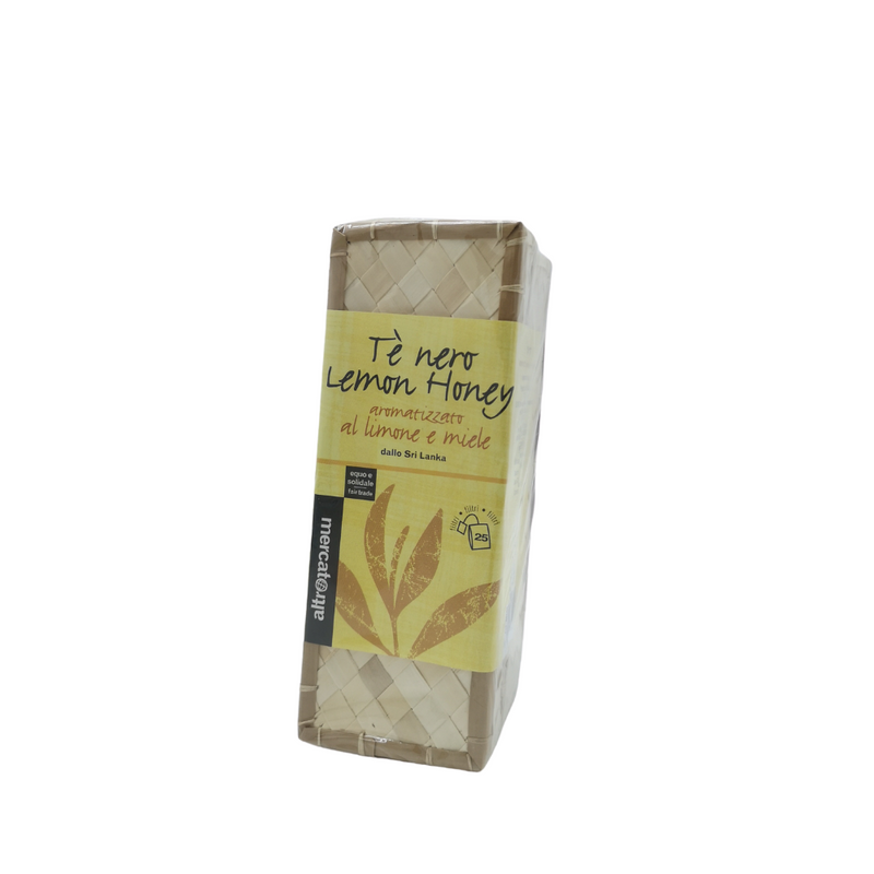 Té nero lemon honey dello Sri Lanka  - 25 filtri