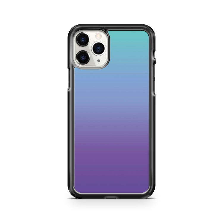 PURPLE and TEAL FADE iphone case