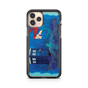 dr who and ariel iphone case