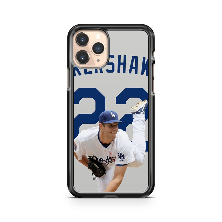 Clayton Kershaw Los Angeles Dodgers 5 iphone case