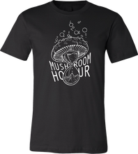Load image into Gallery viewer, Mushroom Hourglass T-Shirt - Black and White