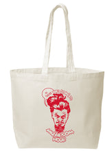 Load image into Gallery viewer, Marvel-ous Mushroom Hour Canvas Tote - Red
