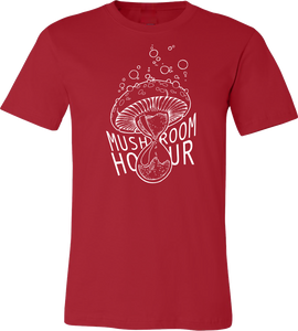 Mushroom Hourglass T-Shirt - Red and White