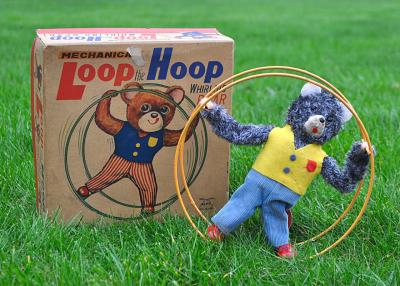 Alps Japan (1940) Tag. Loop the Hoop Sold £150